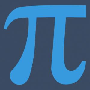 Icon Pitrium Online Kurse blau dunkelblauer Hintergrund 512 × 512
