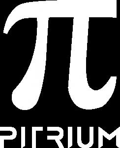 Logo Pitrium Online Kurse weiß transparenter Hintergrund 720 × 887