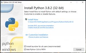 Python Grundlagen Online Kurs Pitrium Python Installation