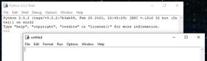Python Grundlagen Online Kurs Pitrium IDLE Shell