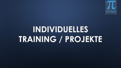 Individuelles Training Projekte