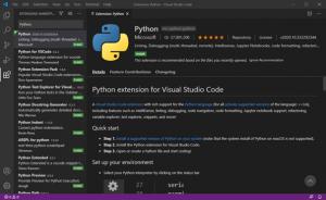 Visual Studio Code Python Erweiterung