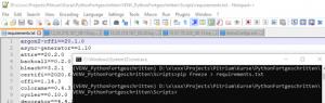 venv Python Virtuelle Umgebung pip freeze requirements