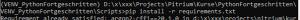 venv Python Virtuelle Umgebung pip install requirements