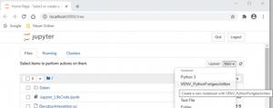 Python jupyter localhost 127.0.0.1