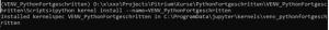 Python jupyter Kernel hinzufügen