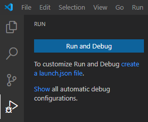 Visual Studio Code Debugging