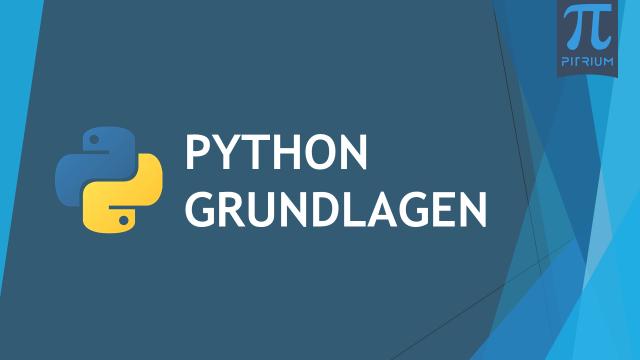 Python Grundlagen Online Kurs Pitrium Kurs Thumbnail